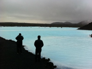 Run off from The Blue Lagoon in Iceland (Nov 2011)